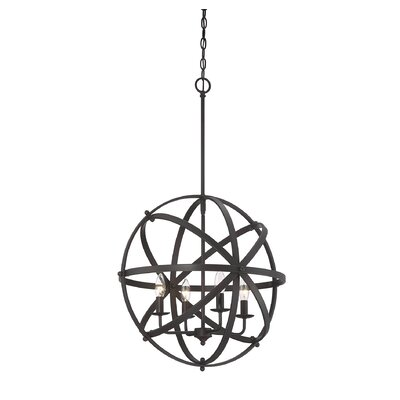 Brook 4-Light Mini Pendant Finish: English Bronze