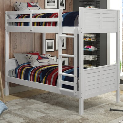 SherryTwin Bunk Bed Finish: White