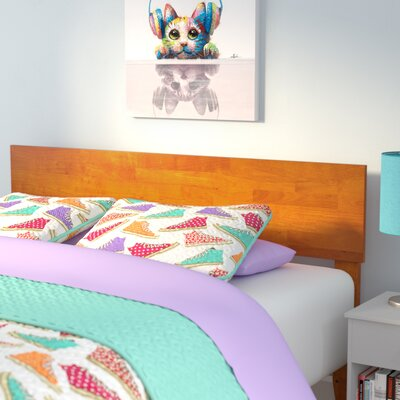 Mathias Panel Headboard Size: Full, Color: Caramel Latte
