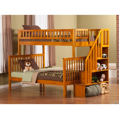 Shyann Bunk Bed Color: Caramel Latte