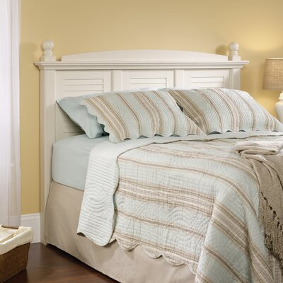 Truman Panel Headboard Finish: Distressed Antiqued White, Size: Full / Queen