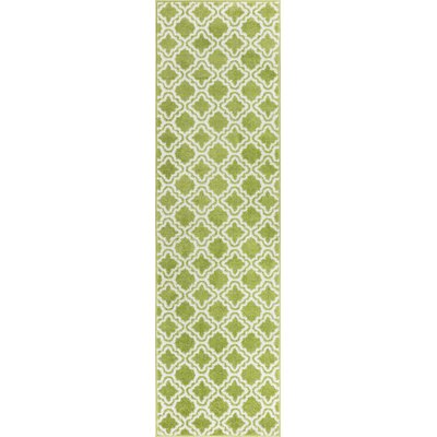 Juliet Calipso Lime Green Area Rug Rug Size: 710 x 106