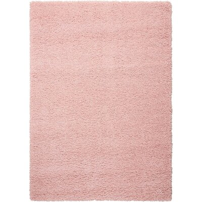Shelley Blush Area Rug Rug Size: Rectangle 53 x 75
