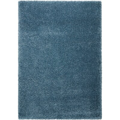Shelley Slate Blue Area Rug Rug Size: Rectangle 53 x 75