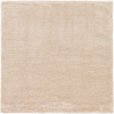 Evelyn Ivory Area Rug Rug Size: Square 8
