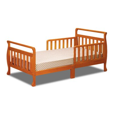 Alessandra Toddler Sleigh Bed Color: Pecan