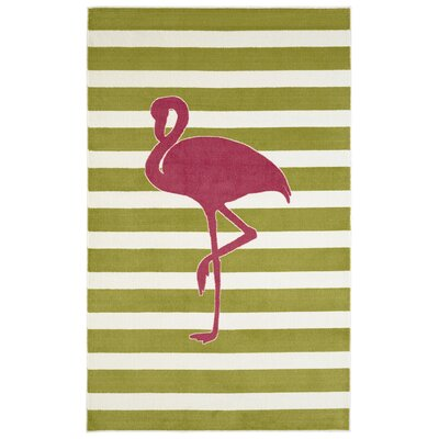 Brynn Fancy Flamingo Area Rug