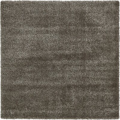 Evelyn Pinecone Brown Area Rug Rug Size: Square 8