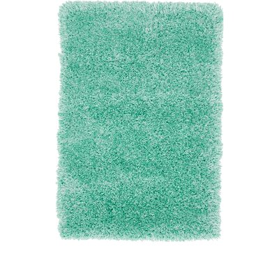 Evelyn Feldspar Green Area Rug Rug Size: Rectangle 8' x 11'