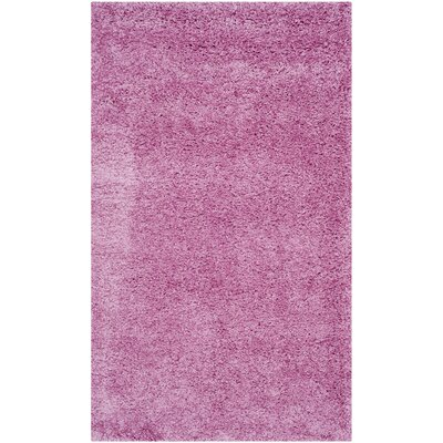 Ariel Pink Area Rug Rug Size: Rectangle 3 x 5