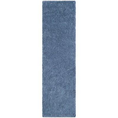 Ariel Light Blue Area Rug Rug Size: Runner 23 x 8