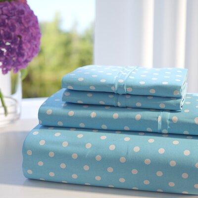 Superior 600 Thread Count Sheet Set Size: Full, Color: Aqua