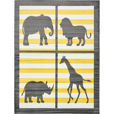 Nicholas Gray Area Rug Rug Size: Rectangle 8 x 10