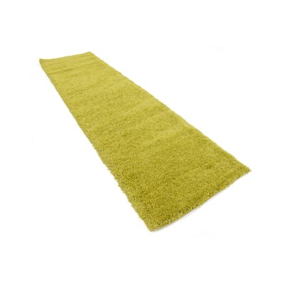Evelyn Yellow Area Rug Rug Size: Runner 27 x 10