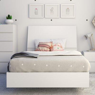 Marcheline Twin Platform Bed Color: White