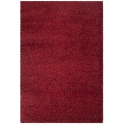 Davey Red Rug Rug Size: Rectangle 51 x 76