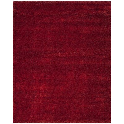 Davey Red Rug Rug Size: Rectangle 8 x 10
