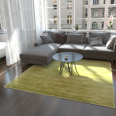 Evelyn Cedar Green Area Rug Rug Size: Rectangle 9 x 12