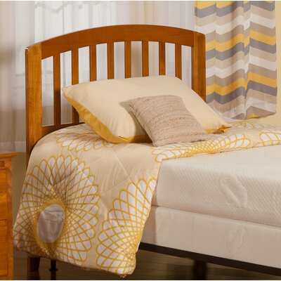 Timmy Slat Headboard Color: Caramel Latte, Size: King