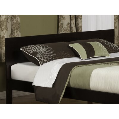 Mathias Panel Headboard Size: King, Color: Espresso