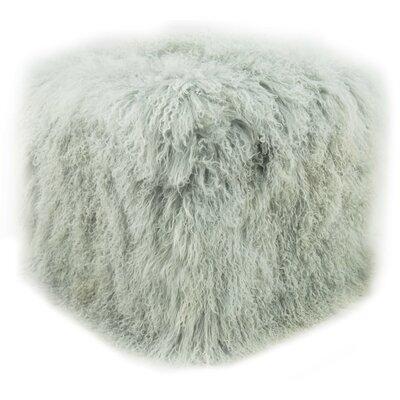 Pouf Upholstery: Ash Gray