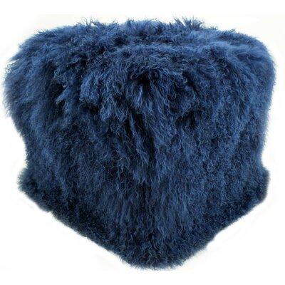 Pouf Upholstery: Nautical Blue