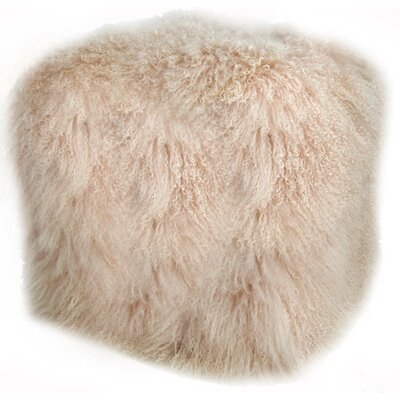Pouf Upholstery: Blush