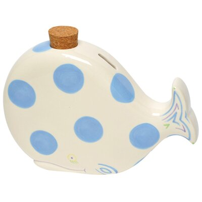 Baby Whale Bank Color: Blue