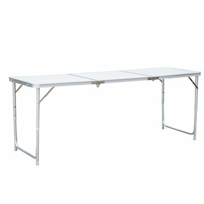 Camping Picnic Table Table Size: 71 L X 24.75 W