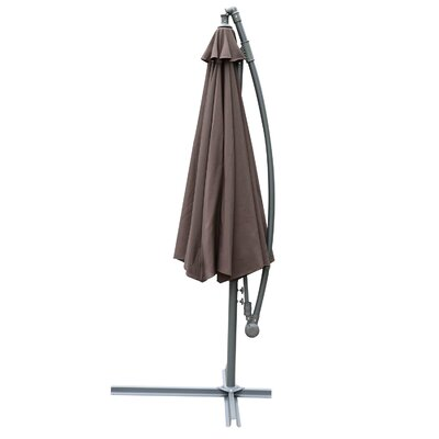 Kelm 10? Steel Hanging Offset Cantilever Patio Umbrella