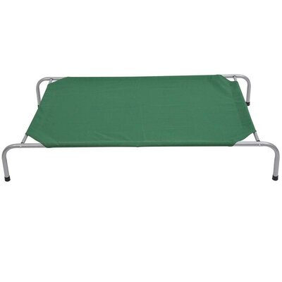 Doreen Elevated Dog Bed/Pet Cot Size: Large (51 L x 31 W)