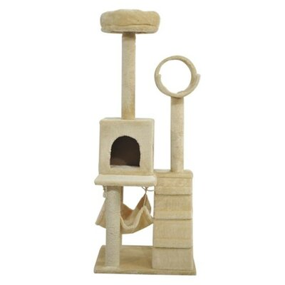 Tree Tunnel Playground Activity Scratcher Cat Tree