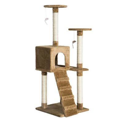 Multi-Activity Scratching Post Cat Tree
