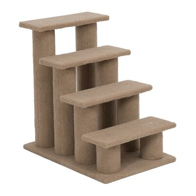 Four Step Cat Tree Stairway Cat Perch