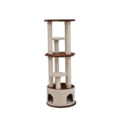 Three Story Cat Tree Scratching Post Cat Condo