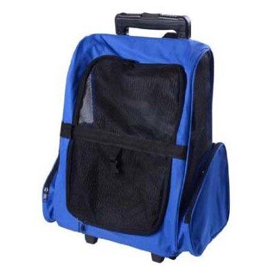 Deluxe Travel Pet Carrier Color: Blue