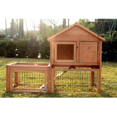 Harley Rabbit Hutch with Outdoor Run