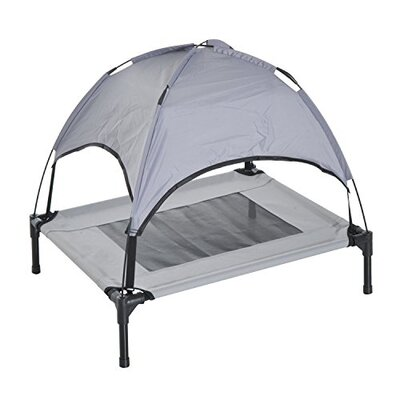 Dog Cot with Canopy Size: 22.75 H x 24.25 W x 18.75 D