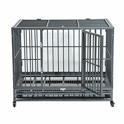 Pet Crate with Wheels