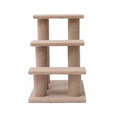 24 3 Step Scratching Post Cat Perch