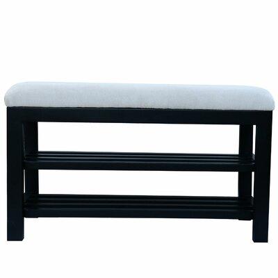 Winston Porter Storage Bench Color: White