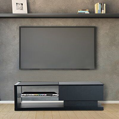 Margery Modern 51 TV Stand Color: Black