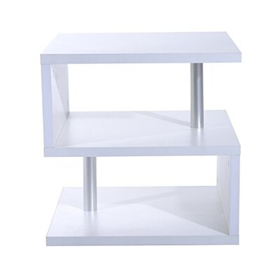Mariah End Table Color: White