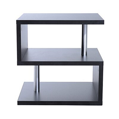 Mariah End Table Color: Black