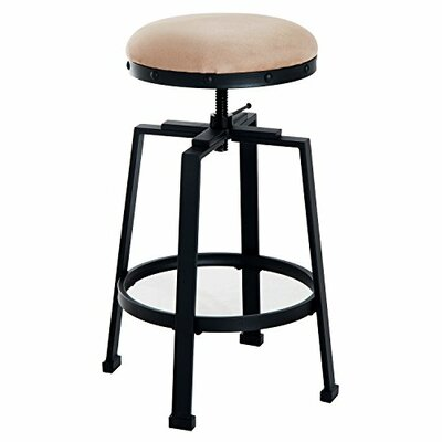 Chumbley Padded Adjustable Height Swivel Barstool