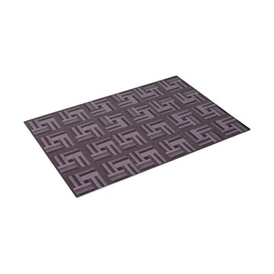 Juan Interlocking Tiles Puzzle Eva Foam Doormat Color: Dark