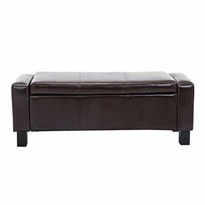 Farrior Storage Ottoman Upholstery: Coffee