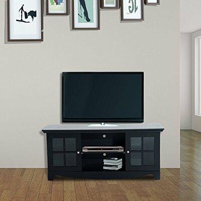 Mcgrady Storage 56 TV Stand Color: Black