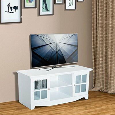 Mcgrady Storage 56 TV Stand Color: White