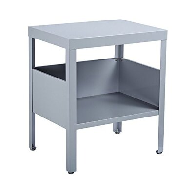 Mcgrail Mid Century Modern Industrial Nightstand Color: Gray